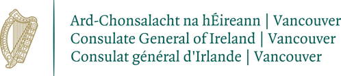 Consulate General of Ireland, Vancouver logo